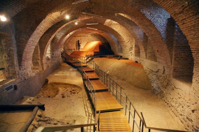 Krapina musee de Neandertal Croatie