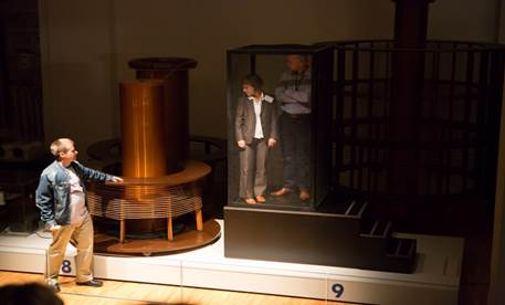 Nikola Tesla dans le musee Technique de Zagreb