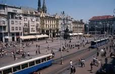 Zagreb - trg Bana