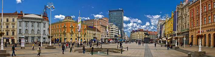trg bana josipa jelacica - Zagreb
