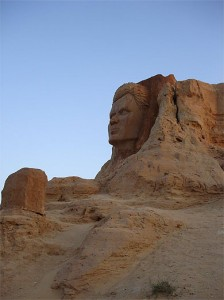 Sahara scultur