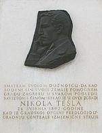Nikola Tesla ploca
