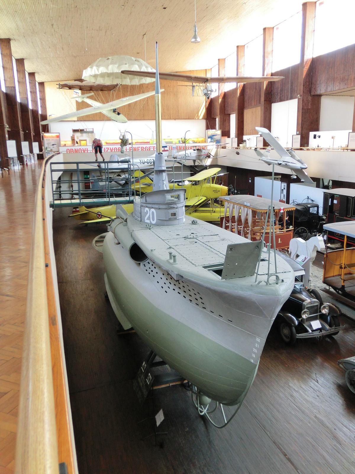 Technical museum Zagreb Croatia