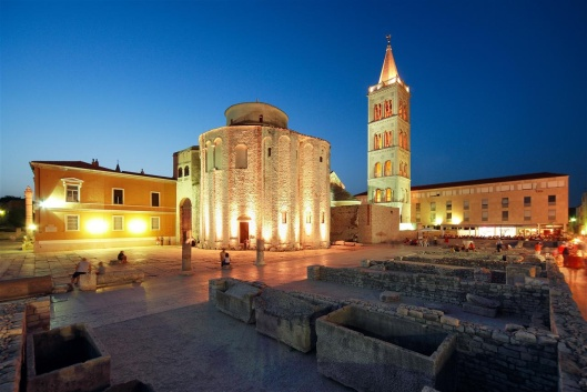 Zadar sv. Donat Croatia